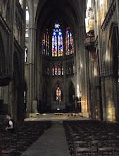 Photo: einer der Seitenaltäre in der Kathedrale zu Metz