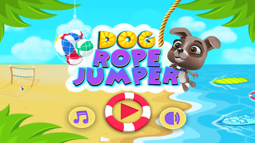 Dog Rope Jumper: Swing Game