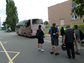 Photo: arriver a Pontoise