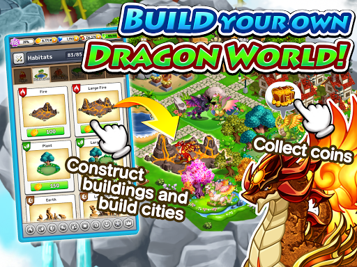 Dragon x Dragon -City Sim Game 1.5.30 mod screenshots 2