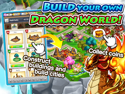 Dragon x Dragon -City Sim Game Screenshot