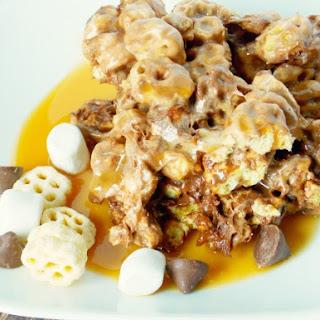 Honeycomb Chocolate Caramel Bar.