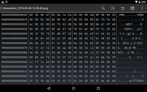 HEX Editor 2.8.3 Screenshots 7