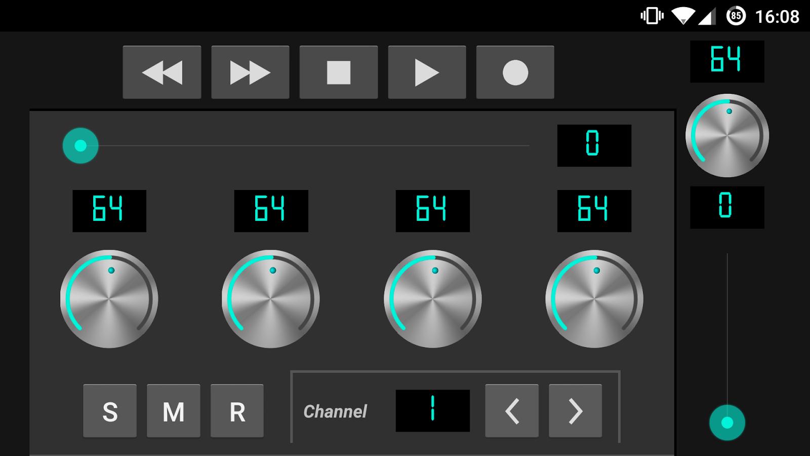 how to play midi through keys ableton