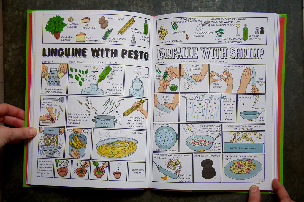 A classic cookbook goes illustrated.