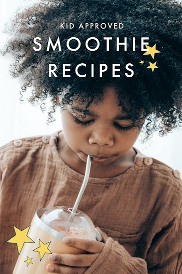 Kid Smoothies  - Pinterest Pin Template