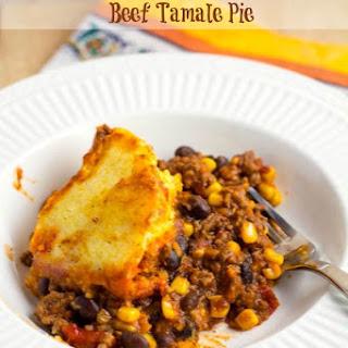 Crock Pot Beef Tamale Pie