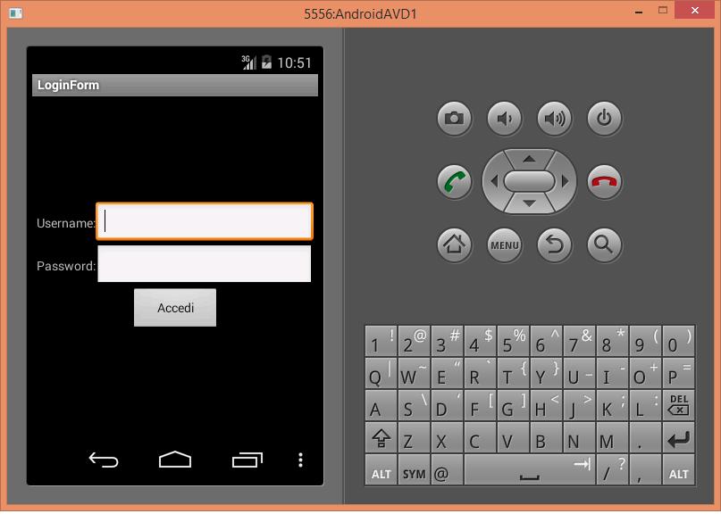 Android widget