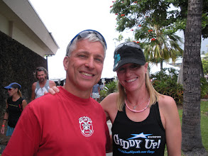 Photo: Michellie Jones has won two ITU Triathlon World Championships, an Olympic Silver Medal, and the 2006 Ironman World Championship. She gave us a guided tour of the course.