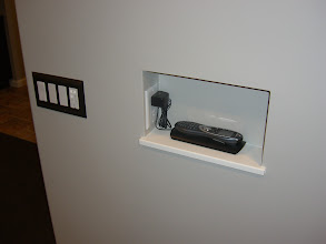 Photo: Special place for my Logitech 880 to charge.