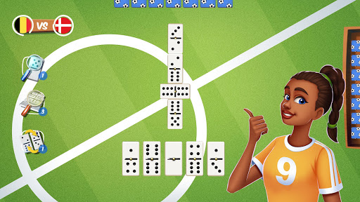 Dominoes Striker: Play Domino with a Soccer blend 2 screenshots 4