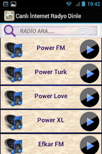 Canlı İnternet Radyo Dinle screenshot 1