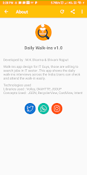 Daily Walkins - IT jobs for developers & freshers APK screenshot thumbnail 8