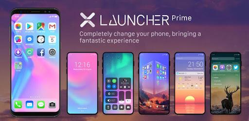 X Launcher Prime:Phone X Theme, IOS Control Center for PC
