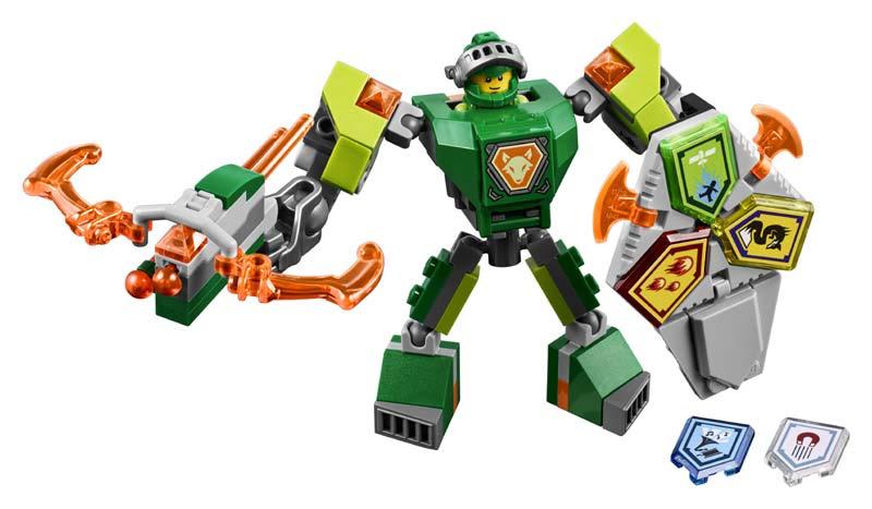 Contenido de Lego® 70364 Aaron con Armadura de Combate