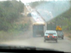 Photo: 5 heures de route très dangereuse