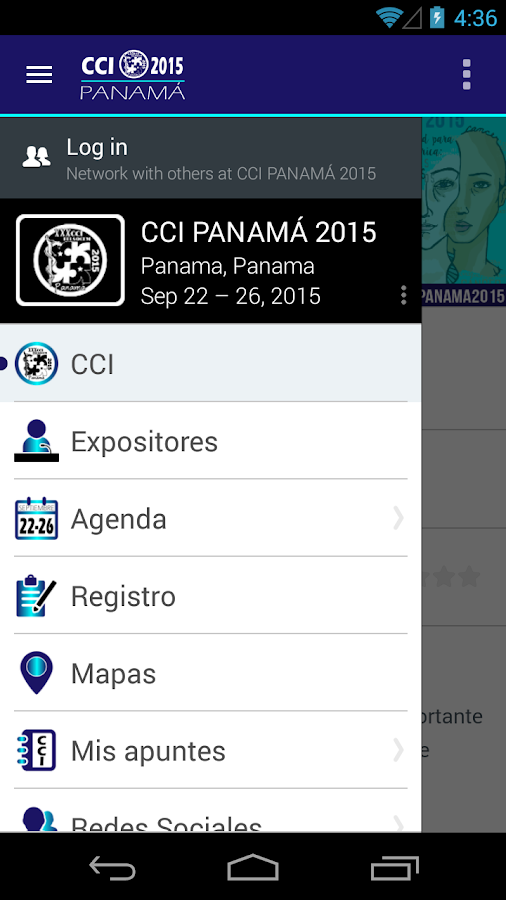 CCI PANAMÁ 2015- screenshot