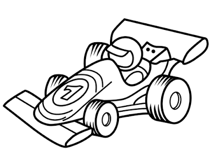 car coloring book games - náhled
