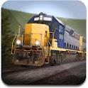 Fast Euro Train Driver Sim: Train Games 3D 2018 icon