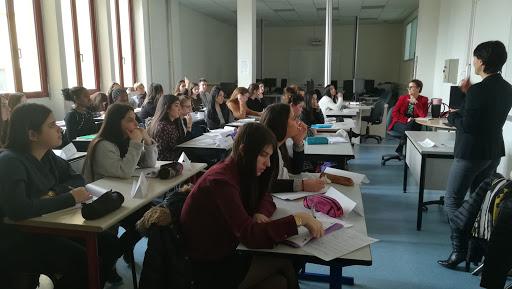 Témoignage de Juliette JARRY, vice présidente de la région Auvergne-Rhône-Alpes en charge du numérique au Lycée Léon Gambetta à Bourgoin Jallieu
