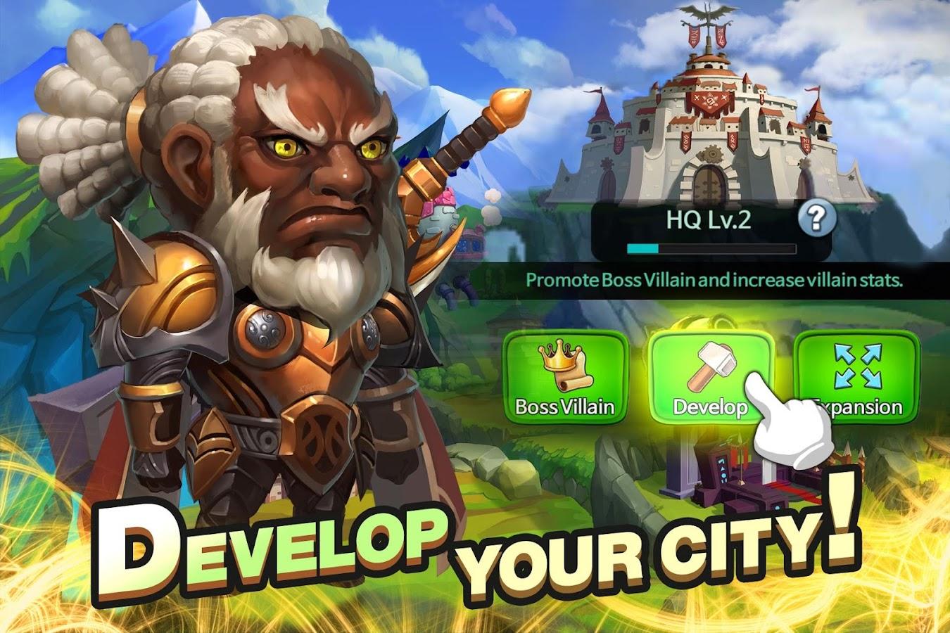 Screenshots of Super Villain War: Lost Heroes for iPhone