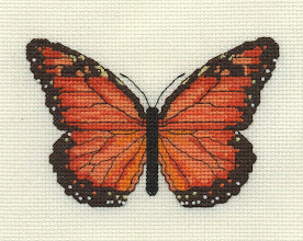 Photo: Completed 14 Feb 2007. Due to the 3 feet of snow we received today, I was able to finish this in two sittings. This, along with the other two butterflies, will be framed together for a small friend of mine.