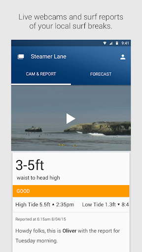 Surfline Surf Reports Forecast