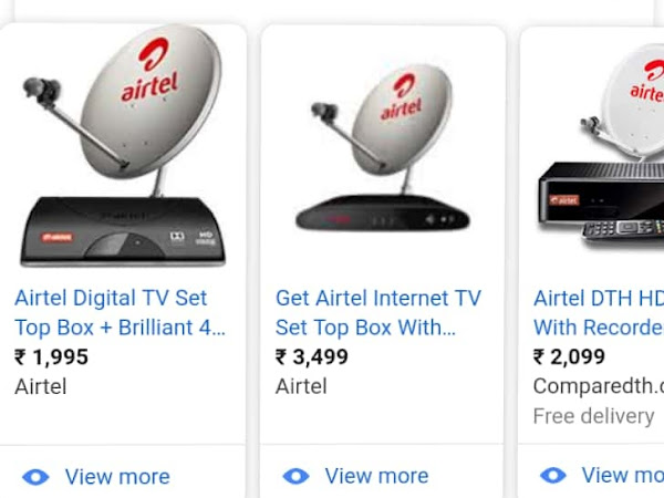 Airtel Dish tv New Connection Services