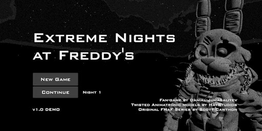 Extreme Nights at Freddy's DEMO 0.1 Demo screenshots 1