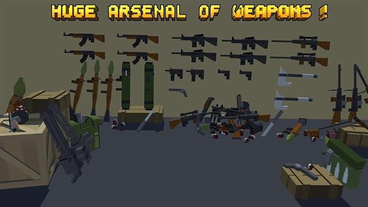 Pixel Fury: Multiplayer in 3D screenshot