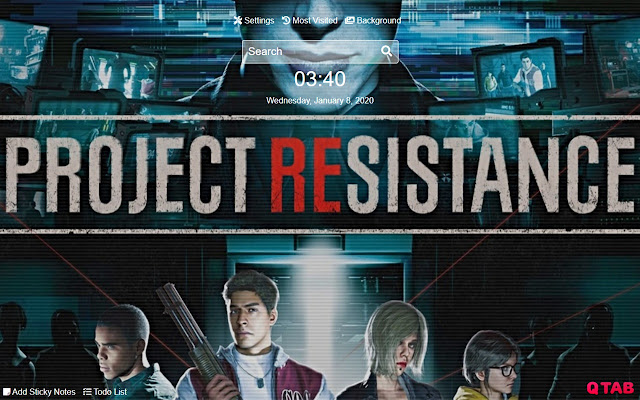 Project Resistance Wallpapers New Tab HD
