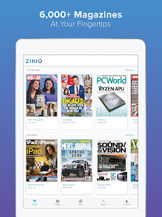 App ZINIO - Magazine Newsstand APK for Windows Phone