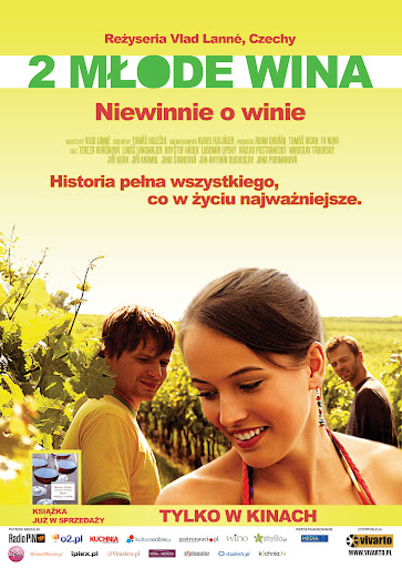 Polski plakat filmu '2 Młode Wina'