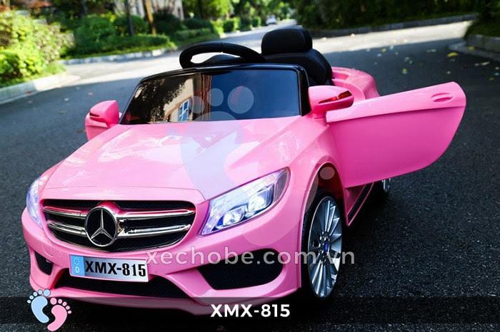 Xe hơi điện trẻ em XMX-815 hồng