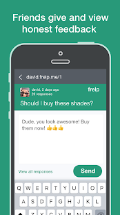 Frelp: get honest anonymous feedback & help - náhled