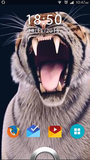 Scream Tiger Live Wallpaper