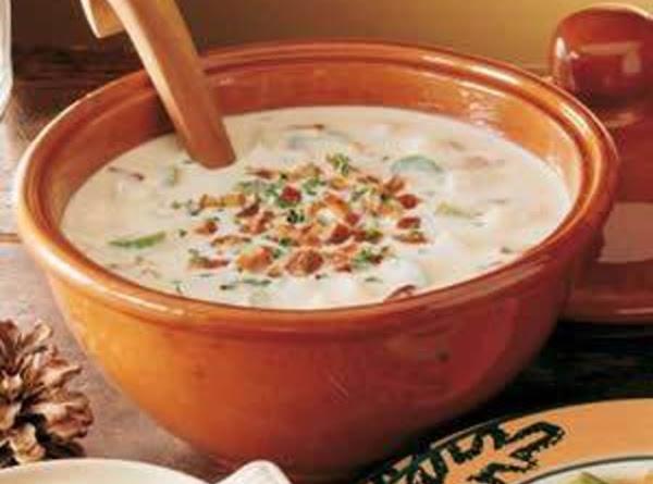 Hearty Bacon Potato Chowder Recipe