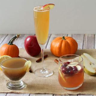 Pumpkin Pear Chai Bourbon Smash.