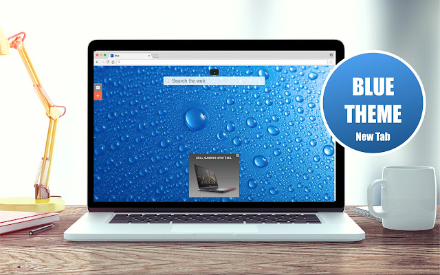 *NEW* HD Blue Wallpapers New Tab Theme