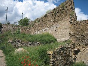 Photo: darreres castell de Sort