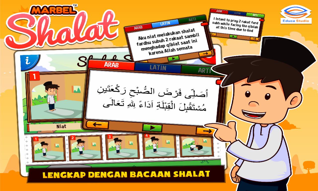 Marbel Belajar Shalat Audio Android Apps On Google Play