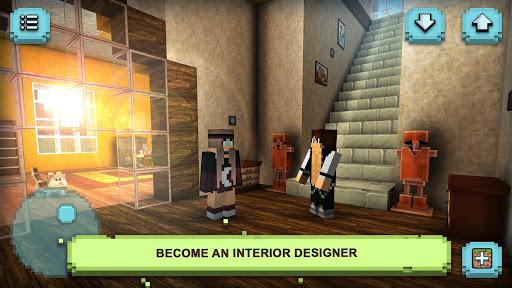 Dream House Craft: Design & Block Building Games 1.16-minApi23 screenshots 7
