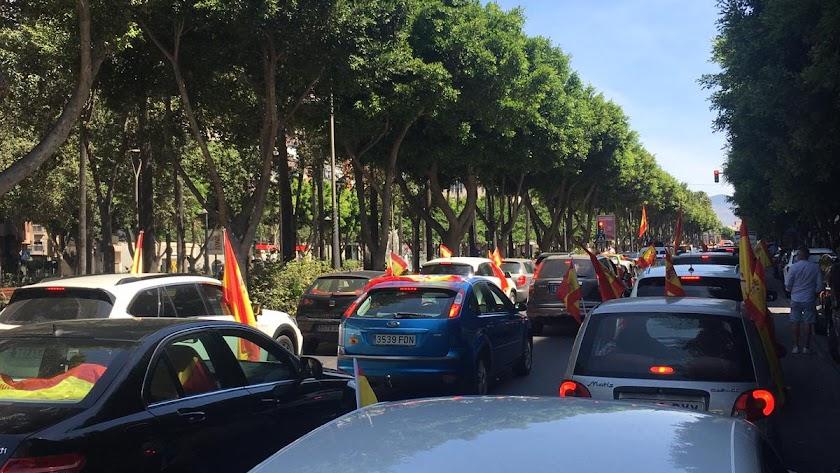 \'Cocheroladas\' en Almería capital.