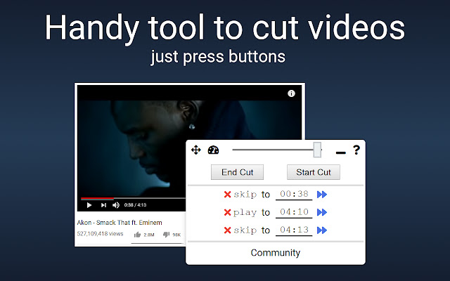Cut YouTube Videos with VideoSegments