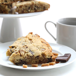 Toffee & Dark Chocolate Scones