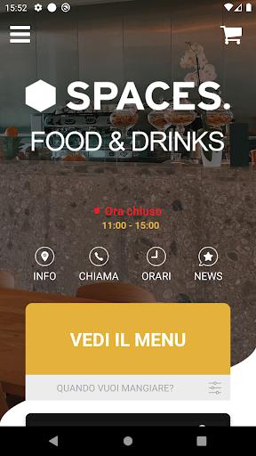 Spaces Food & Drinks screenshot 1
