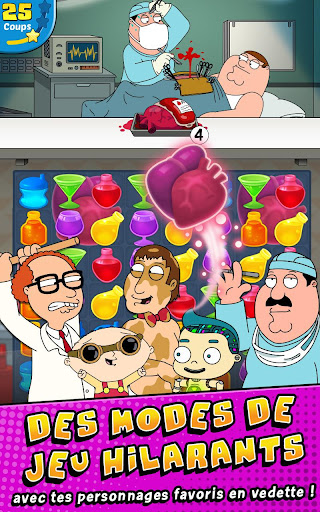 Family Guy- Another Freakin' Mobile Game  captures d'écran 2