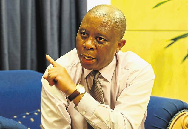 Johannesburg mayor Herman Mashaba faces a vote of no confidence on Thursday. File picture.