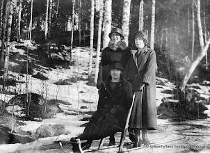 Photo: Gruppfoto 1920-tal Vasselhyttan