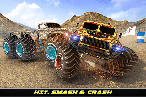 Army Monster Truck Demolition : Derby Games 2020 for PC-Windows 7,8,10 and Mac apk screenshot 10